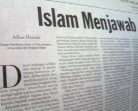 Islam Menjawab - Adian Husaini