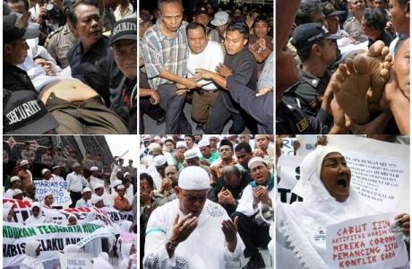 Korban Jatuh - Fenomena Ritual Agama Baru = Demokrasi